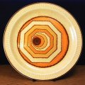 """Poole pottery """"Vortex"""" plate"""