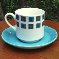 "Midwinter ""Berkeley"" tea cup and saucer by Jessie Tait"
