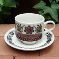"""Broadhurst """"Romany"""" tea cup and saucer"""