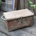 Rusty iron box
