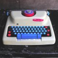 Mettoy typewriter toy made in England