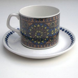 "画像1: J&G Meakin ""Tuscany"" tea cup and saucer"