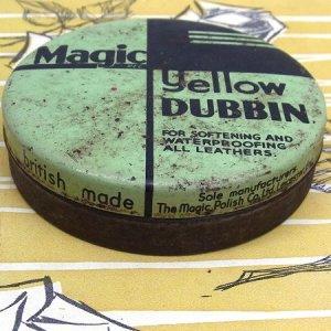 """画像2: """"Magic Yellow DUBBIN"""" old tin"""