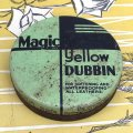 """Magic Yellow DUBBIN"" old tin"