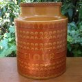 "Hornsea ""Saffron"" flour jar/canister"