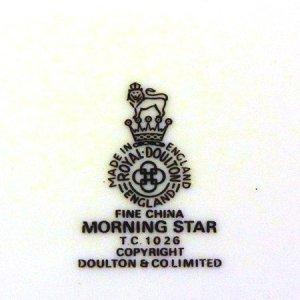 """画像5: Royal Doulton """"Morning Star"""" plate"""