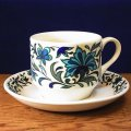"Midwinter ""Spanish Garden"" tea cup and saucer"