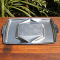 BRAMAH stainless meat carving tray