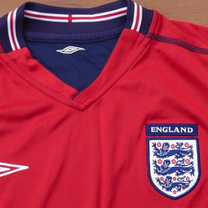 画像2: England official football shirt