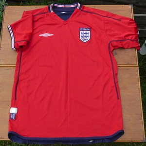 画像1: England official football shirt