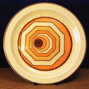"""画像1: Poole pottery """"Vortex"""" plate"""
