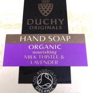 画像2: Duchy Originals Organic Hand Soap / Milk Thistle & Lavender
