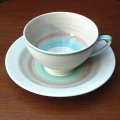 "Susie Cooper ""Wedding Ring"" tea cup and saucer"