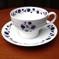 "Midwinter ""Pierrot"" tea cup and saucer design by Nigel Wilde"