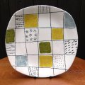 "Midwinter ""Chequers"" plate designed by Terence Conran"
