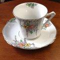 BURGESS BROS tea cup and saucer
