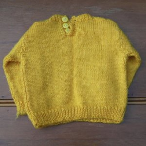 画像3: hand knitted sweater