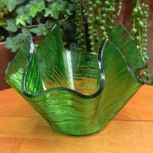 画像2: CHANCE GLASS handkerchief ornament/vase