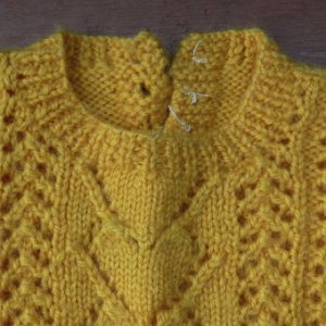 画像2: hand knitted sweater