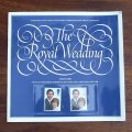 Royal Wedding stamp sheet