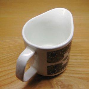 """画像2: J&G Meakin """"Maori"""" creamer/milk pitcher by Jessie Tait"""