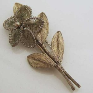 画像1: flower brooch