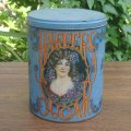 HARPERS SUGAR old tin