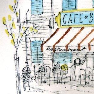 """画像2: Midwinter """"Cannes"""" cake plate"""