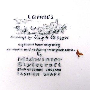 """画像4: Midwinter """"Cannes"""" cake plate"""
