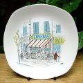 "Midwinter ""Cannes"" cake plate"