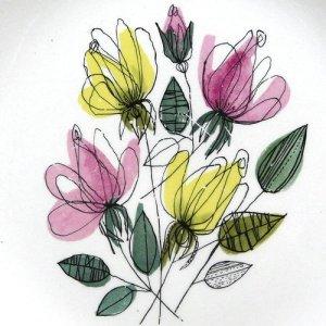 """画像2: Midwinter """"Melody"""" plate designed by Terence Conran"""