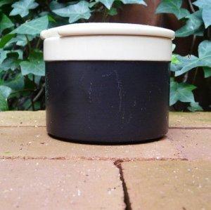 """画像2: Hornsea """"Ebony"""" sugar pot"""
