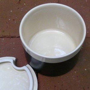 """画像4: Hornsea """"Ebony"""" sugar pot"""