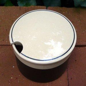 """画像3: Hornsea """"Ebony"""" sugar pot"""