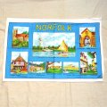 NORFOLK tea towel