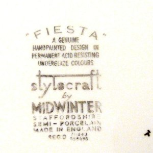 "画像4: Midwinter ""Fiesta"" dinner plate"