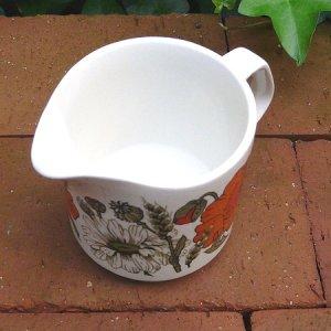 "画像3: J&G Meakin ""Poppy"" milk pitcher"