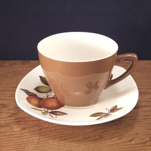 "画像1: Midwinter ""Oranges and Lemons"" tea cup and saucer"