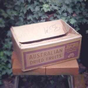 画像1: Old cardboard box from Australia