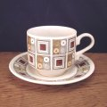 "Broadhurst ""Rushstone"" tea cup and saucer"