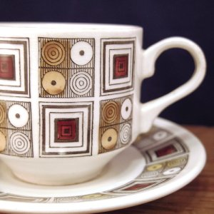 "画像2: Broadhurst ""Rushstone"" tea cup and saucer"