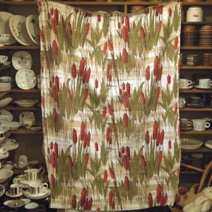 画像2: Vintage 1950s curtain