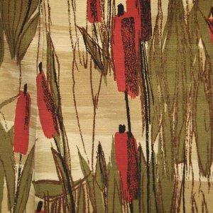 画像1: Vintage 1950s curtain