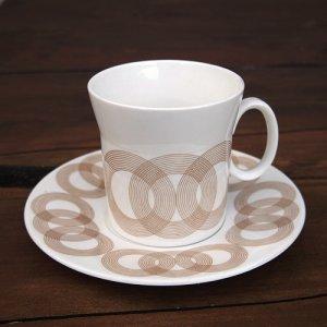 """画像1: Hostess Tableware """"Olympus"""" tea cup and saucer designed by John Russell"""