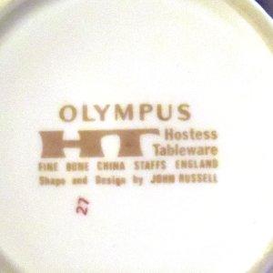 """画像4: Hostess Tableware """"Olympus"""" tea cup and saucer designed by John Russell"""