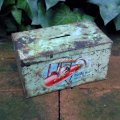 Old money box/piggy bank