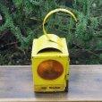 画像1: vintage yellow lantern (1)