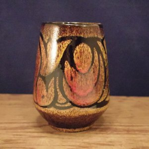 """画像2: Poole pottery """"Aegean"""" small vase"""