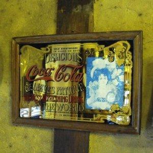 画像2: Coca Cola vintage pub mirror