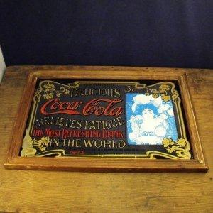 画像1: Coca Cola vintage pub mirror